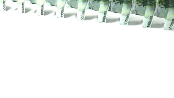 peníze se blíží! 100 EUR bankovky