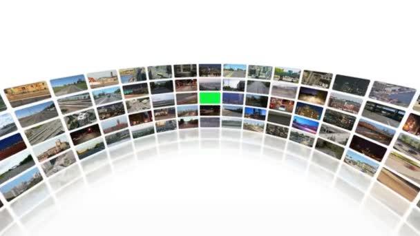Video stěny dopravy videí