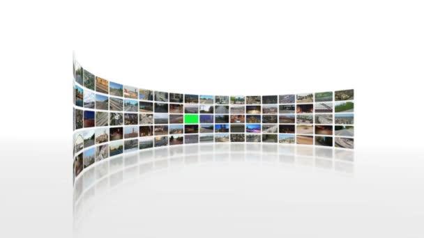Videowall di video trasporti