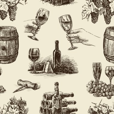 Pattern of wine