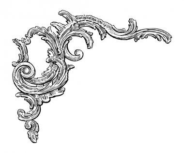 Baroque architectural detail