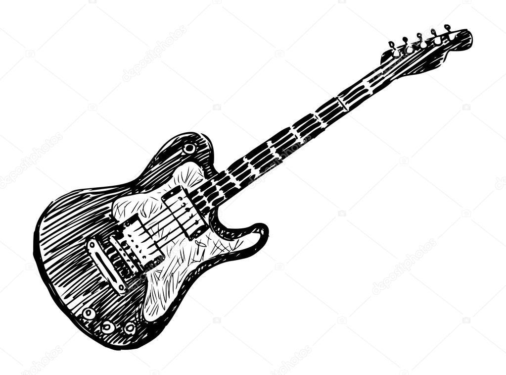 e-Gitarre — Stockvektor © alekseimakarov #47154131