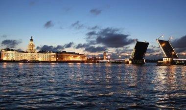 The Palace bridge ,St Petersburg