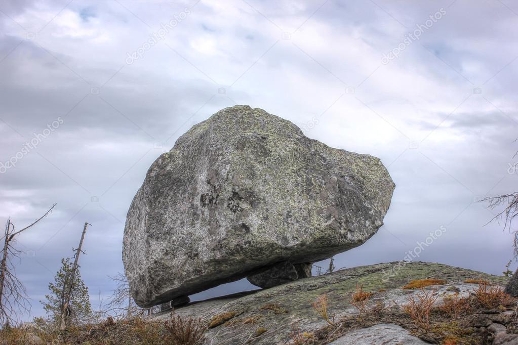 Mountain Vottovaara, Russia