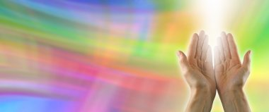 Color healing website banner