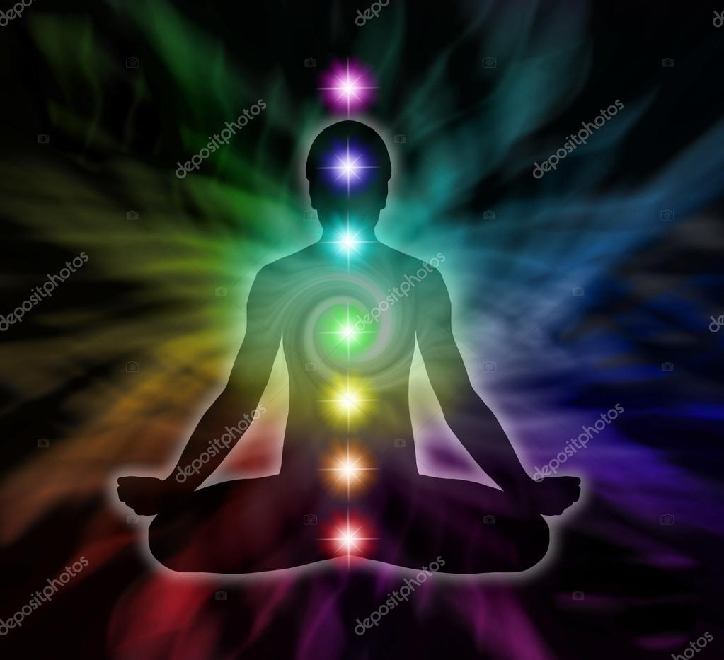 Chakra Meditation Diagram — Stock Photo © Healing63 #47827925