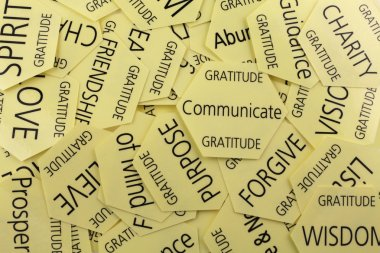 Gratitude Therapy Cards