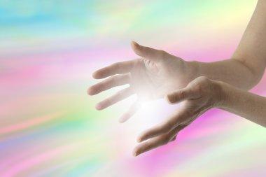 Color healing website banner