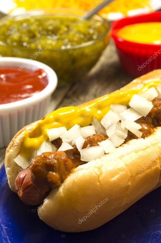 Hot dog fixens