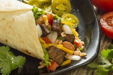 Beef burrito