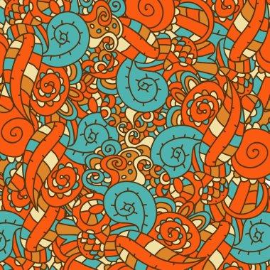 retro colors pattern