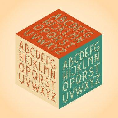 Roman alphabet.