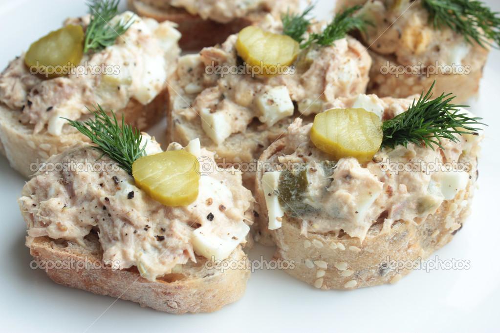 tonijnsalade voor toast