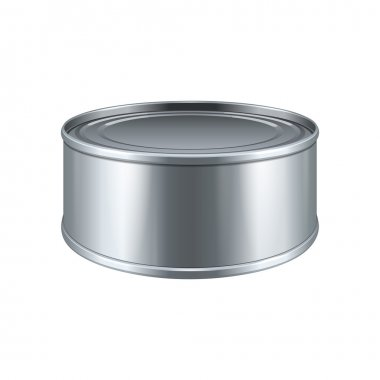 Short Tincan Metal Tin Can, Canned Food