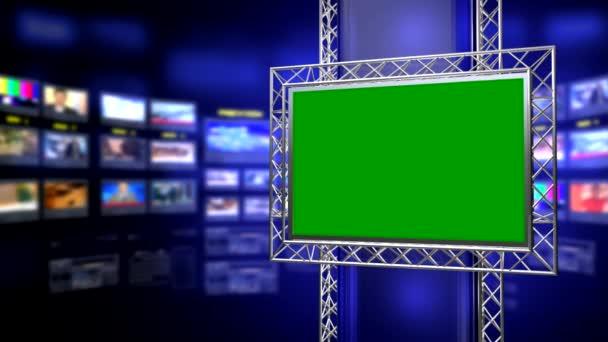 Virtuelles Nachrichtenstudio