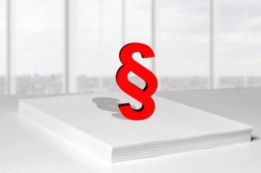 paper stack paragraph symbol