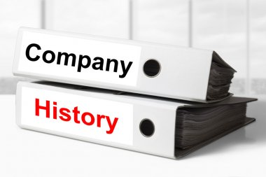 company history office binders