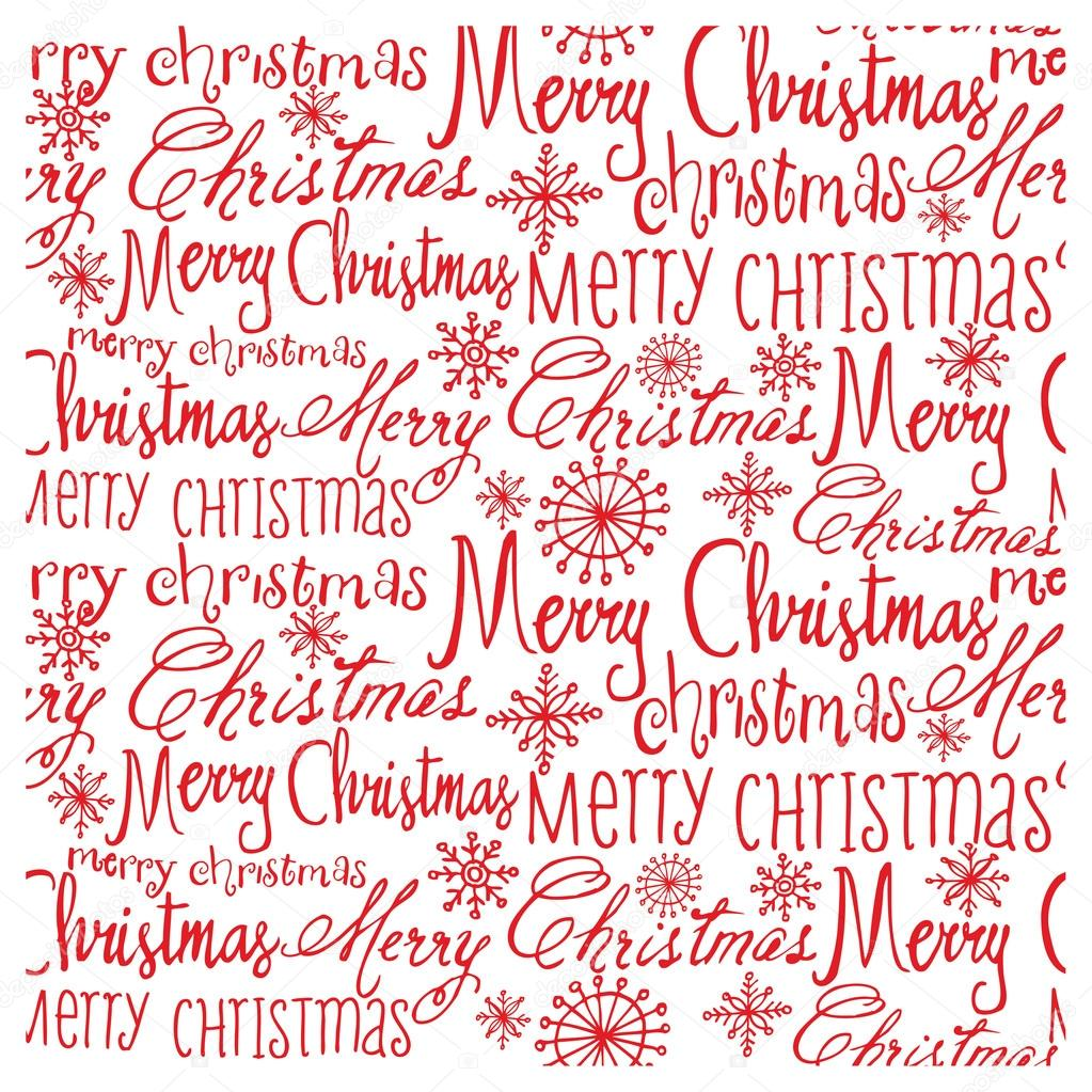 Weihnachten-Wörter-Muster — Stockvektor © OMW #48660605