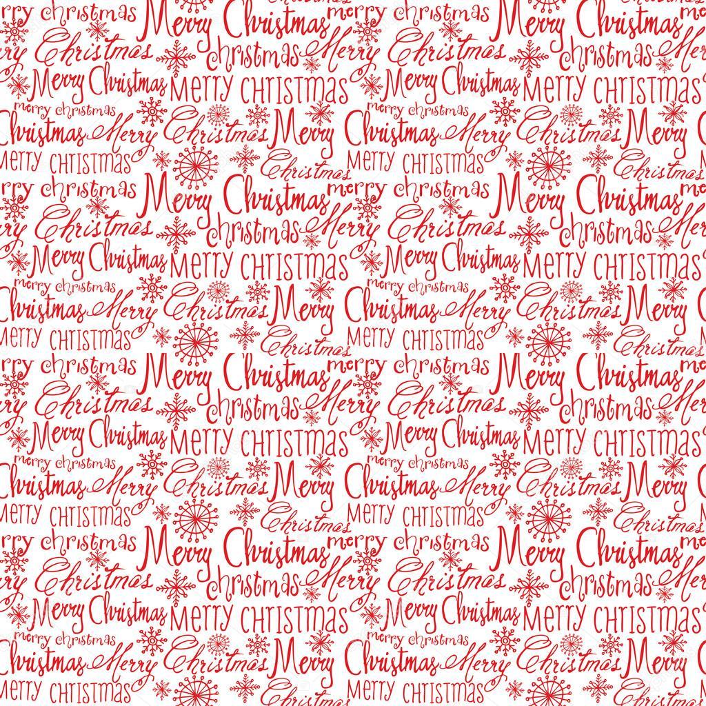 Weihnachten-Wörter-Muster — Stockvektor © OMW #48660649