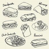 sendvič doodle