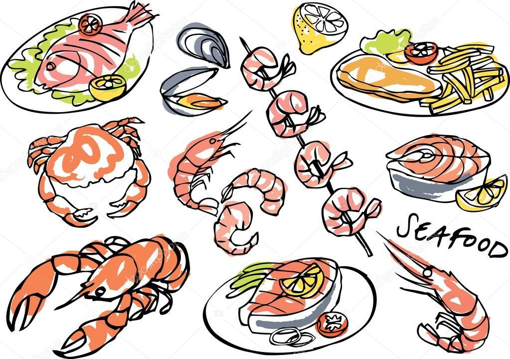 Seafood set