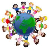 Fényképek gyerekek a világ minden tájáról