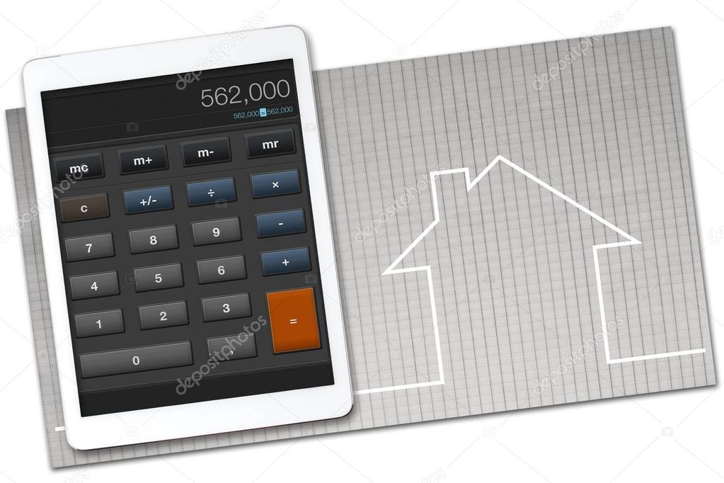 Hausbau Kosten Rechner Stockfoto C Rzoze 49042703