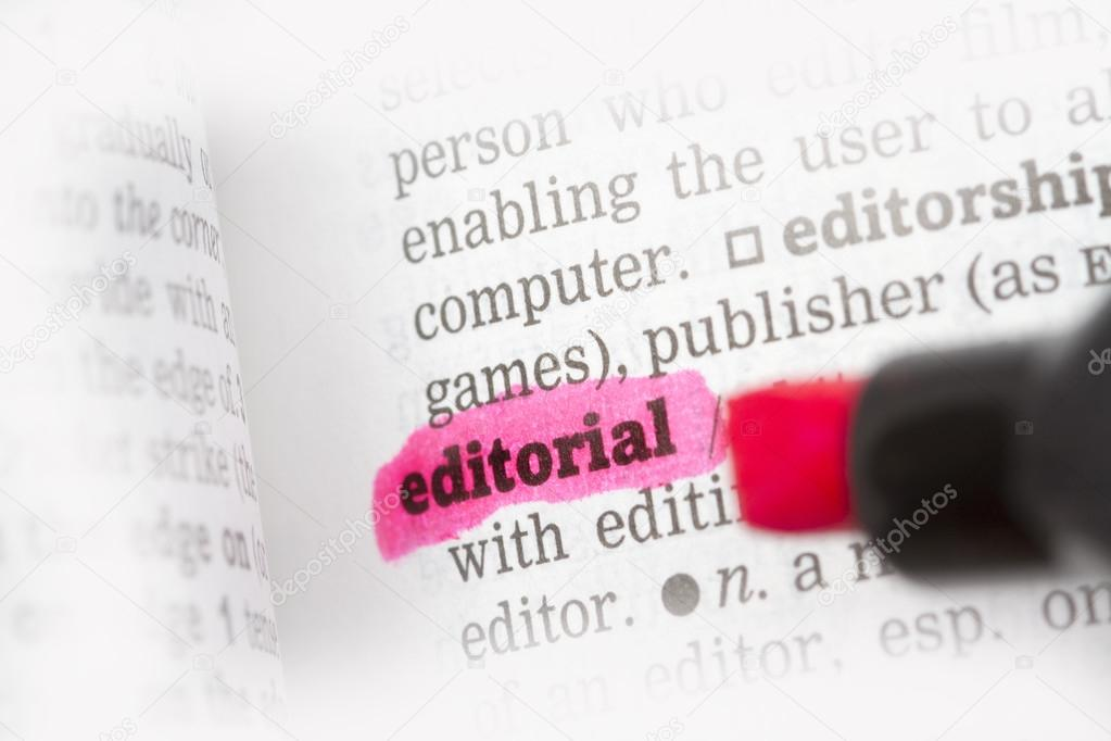 Captivating Editorial Dictionary Definition U2014 Stock Photo