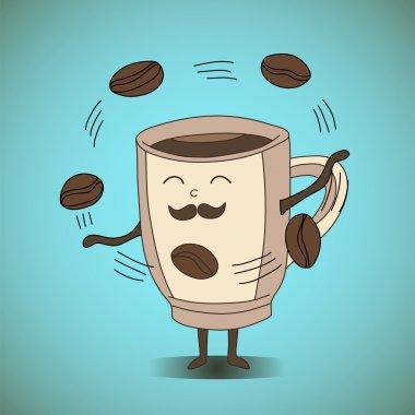 Coffe jaggler