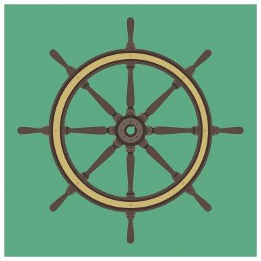 Sailing steering wheel