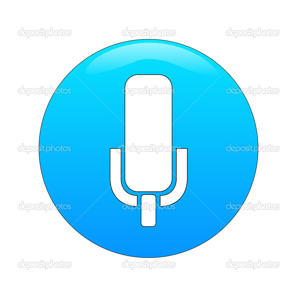 Microphone app — Stock Vector © agongallud #50477489