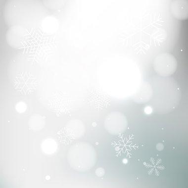 Gray winter background