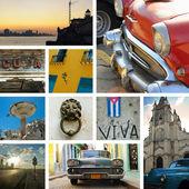 Fotografia collage di Cuba