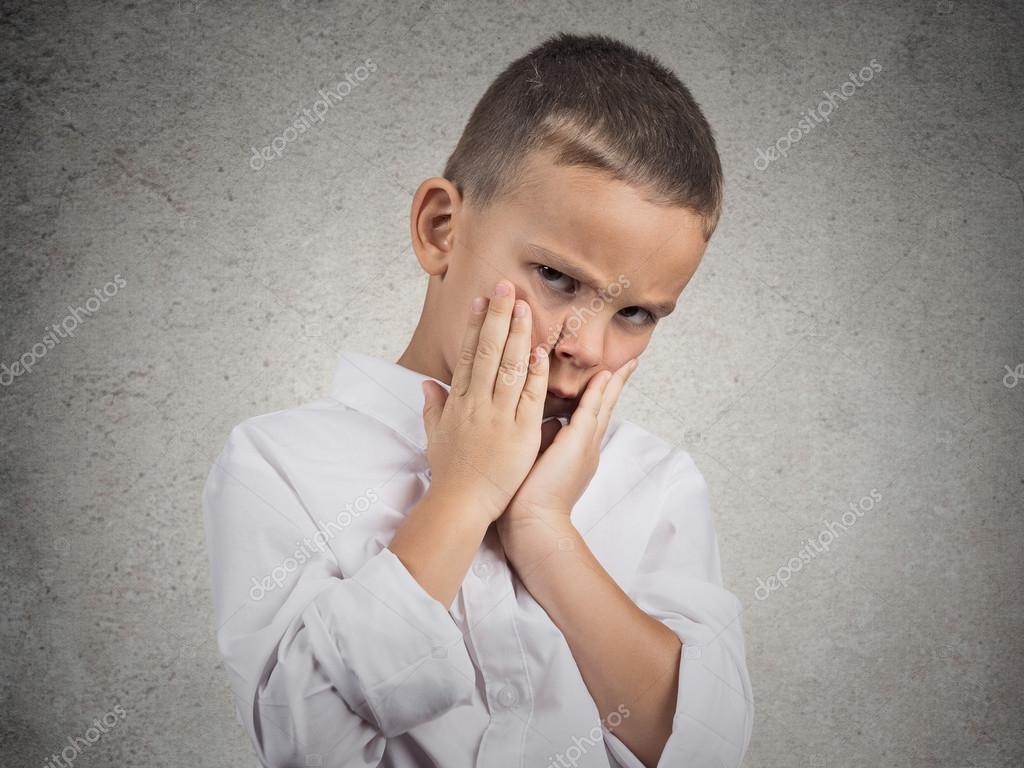Sad Depressed Tired Child