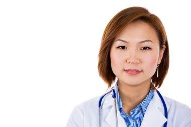 Female healthcare professional, dentist, doctor, nurse