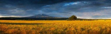 Sunset in Tongariro