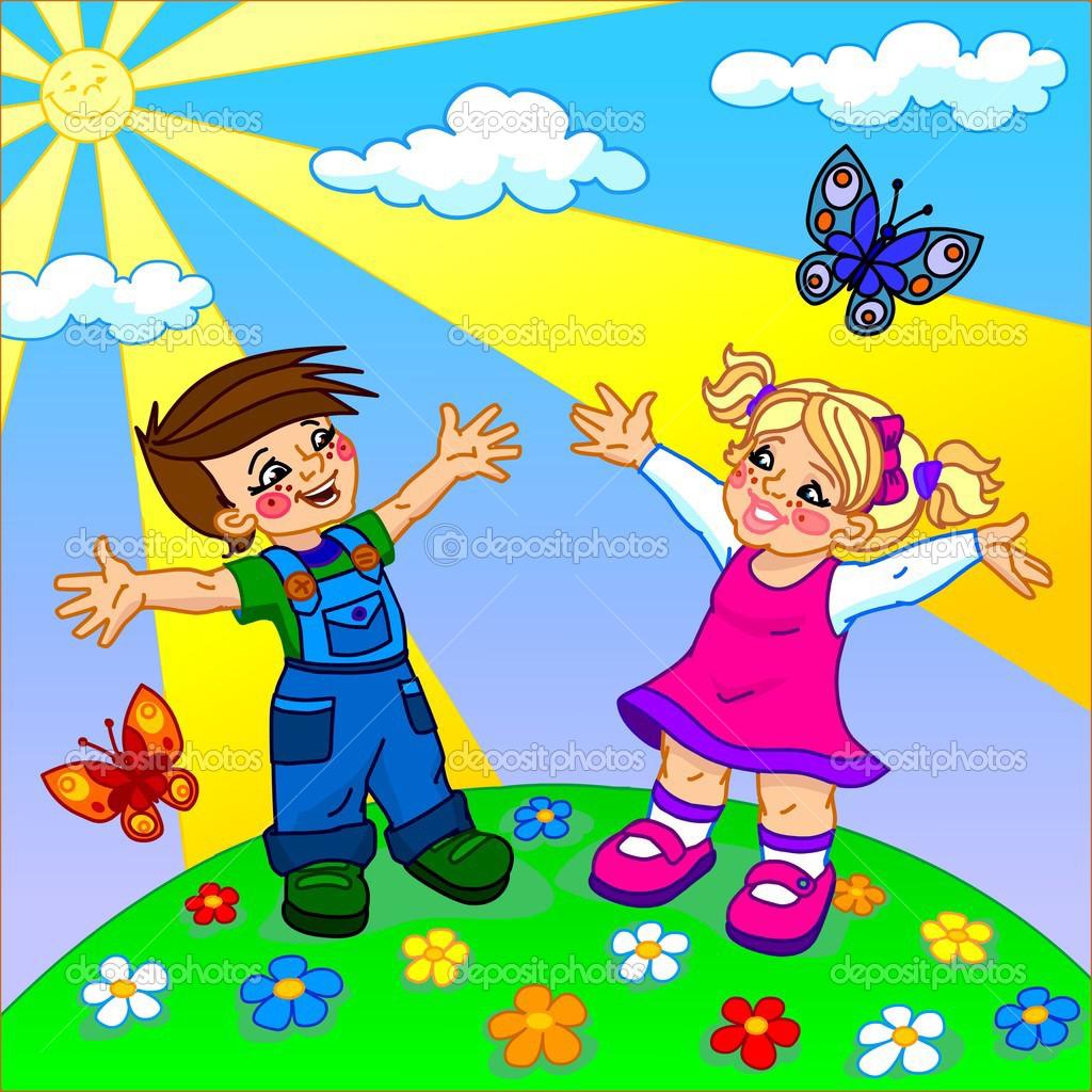 ребёнок под солнечным знаком