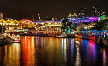 Lantern Festival on Singapore River