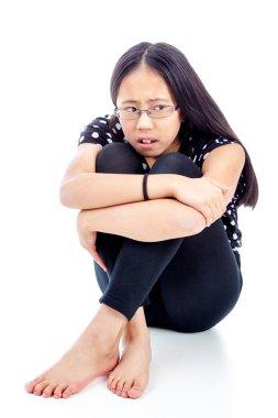 Asian Girl in Distress