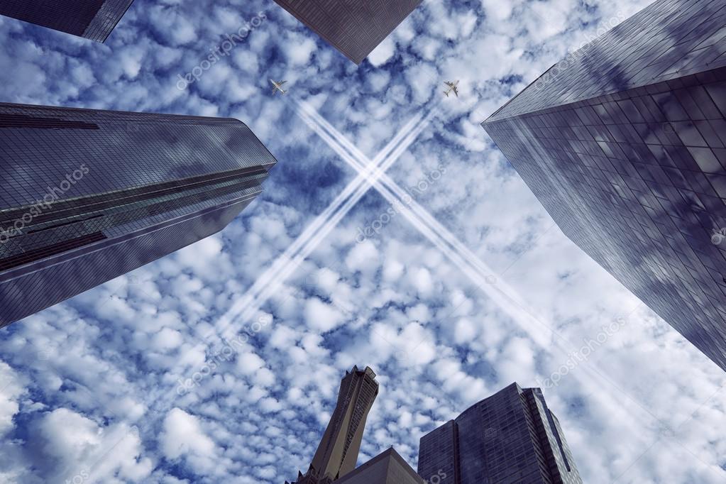 Jets over City