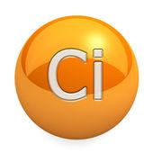 3D chemický prvek Ci