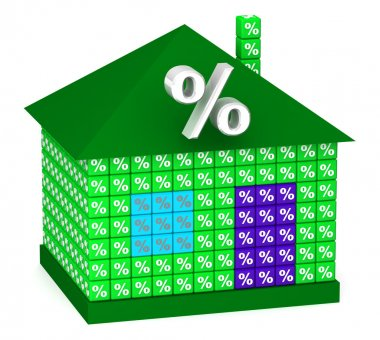 Green House with percentage