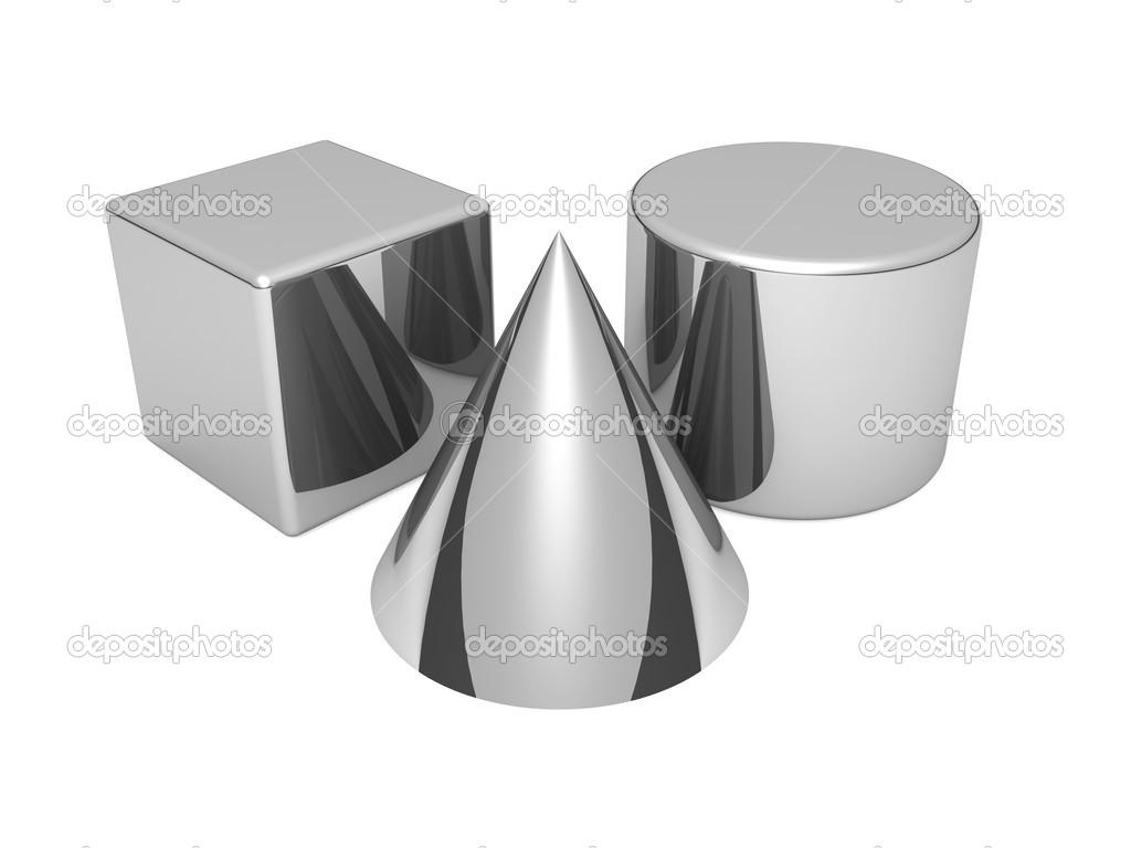 grundlegende geometrische 3d formen stockfoto best3d 51229757. Black Bedroom Furniture Sets. Home Design Ideas