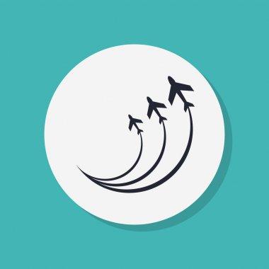 Plane icon design