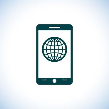 Mobile smartphone icon
