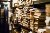 Fotografie Zásobníky s mnoha starých knih