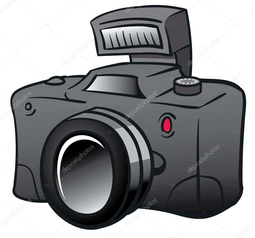 Výsledek obrázku pro fotoaparát kreslený