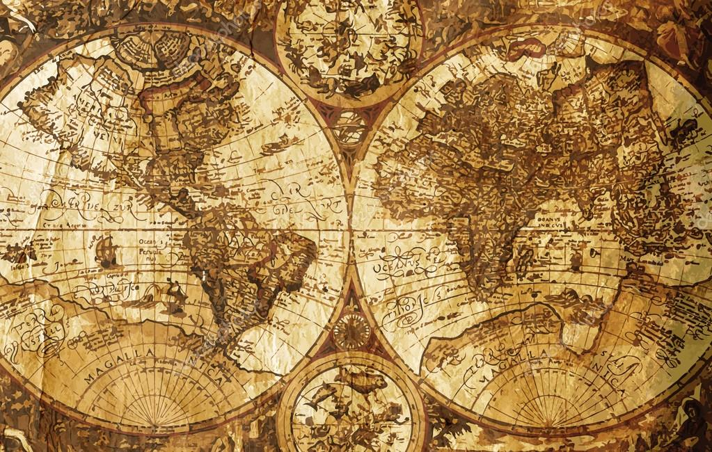 Old world map vintage design concept stock photo eilatonline old world map vintage design concept stock photo gumiabroncs Choice Image