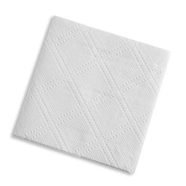 White square napkin,