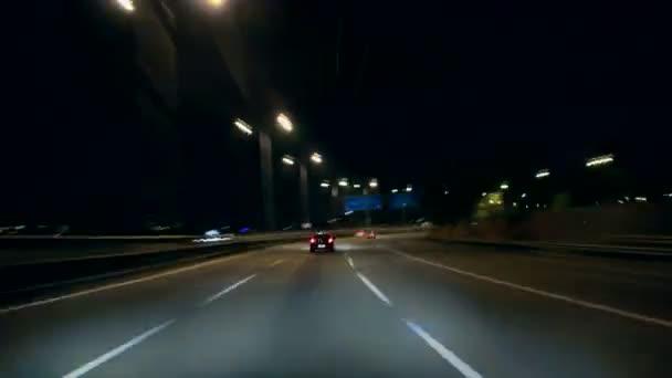 Barcelona Nacht City Drive Cameracar 2